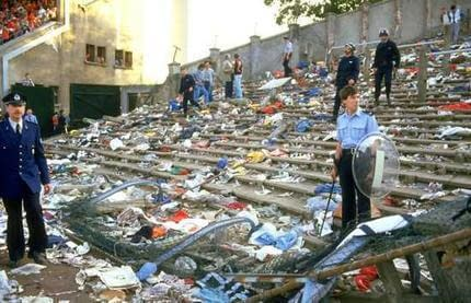 At The Heysel (From Where I Was Standing)