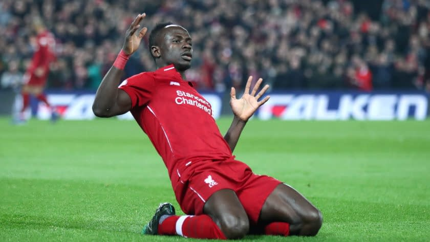 Sadio Mané Liverpool Player Of The Month